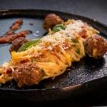 Спагети с мляно Иберико