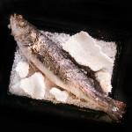 Див лаврак в сол